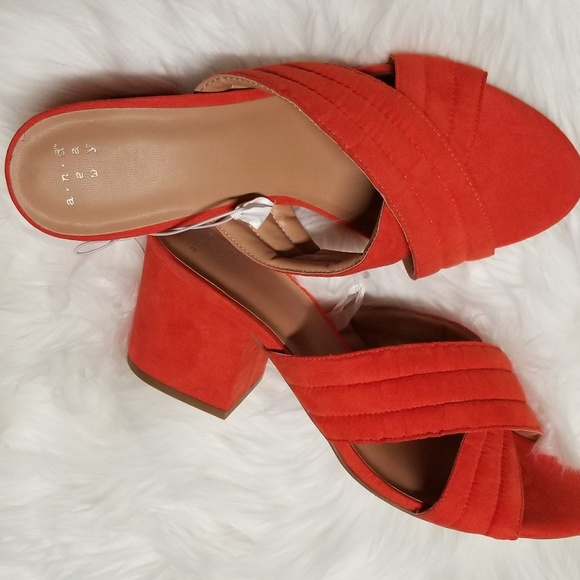 5b111278339b a new day Shoes - Women s cross band coral mules